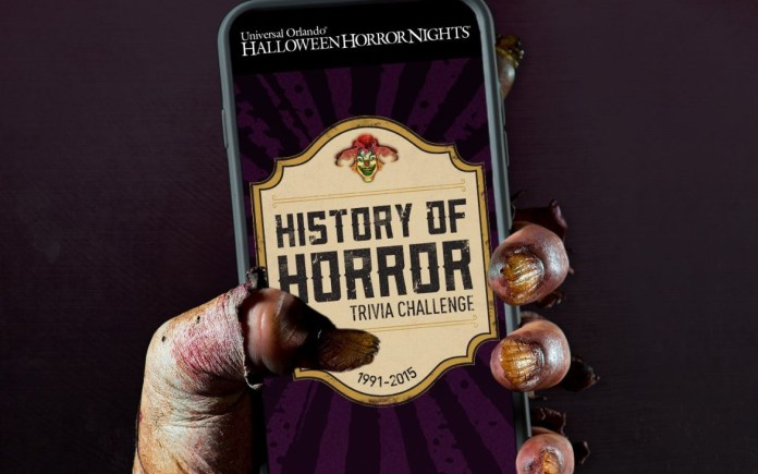 Halloween Horror Nights trivia