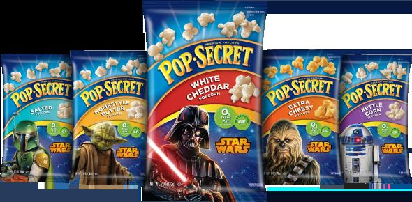 Pop Secret Star Wars