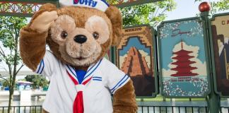 Character Meet Duffy Disney Bear