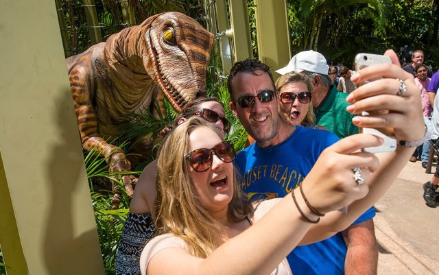 Raptor Encounter at Universal's Islands of Adventure