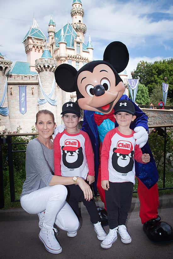 Celine Dion Disneyland-min