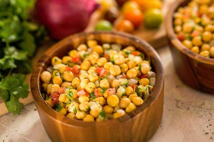 Chickpea Salad Recipe Harambe Market at Disney's Animal Kingdom