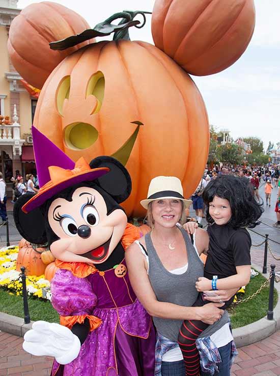 Christina Applegate Enjoys Halloween Time at Disneyland Park