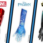 Open Bionics Iron Man and Elsa-themed hands