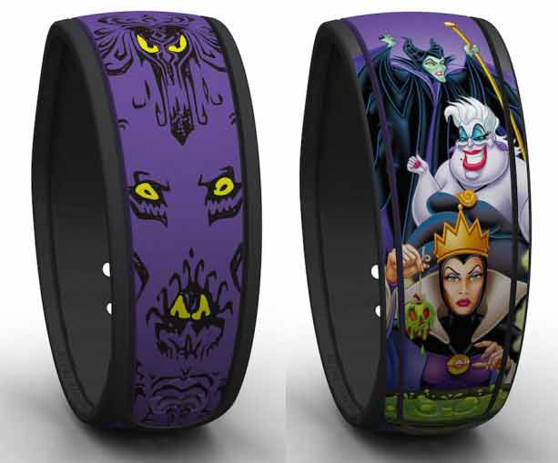 MagicBands-haunted-mansion-disney-villains