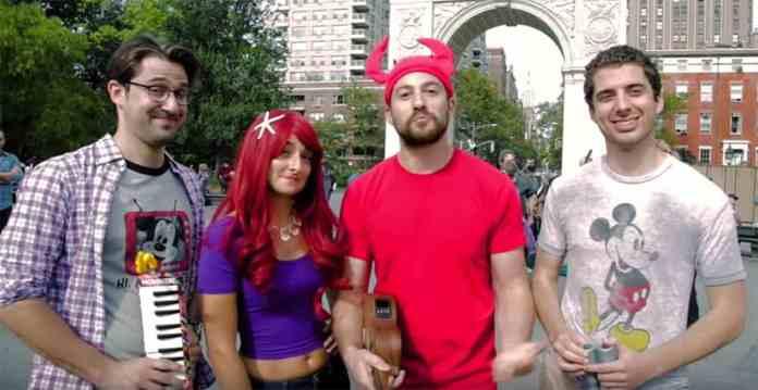 The Little Mermen New York City Disney Cover Band