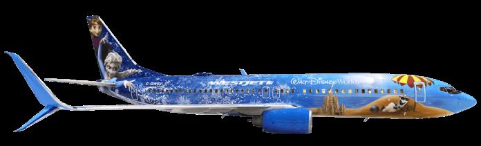 WestJet frozen jet-min