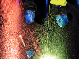 Blue Man Group proudly supports Autism Speaks.