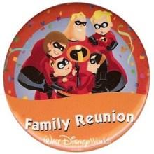 Disney World Family Reunion Button
