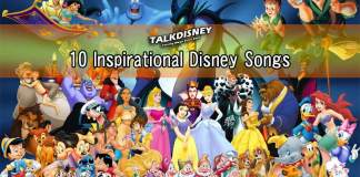 10 Inspirational Disney Songs