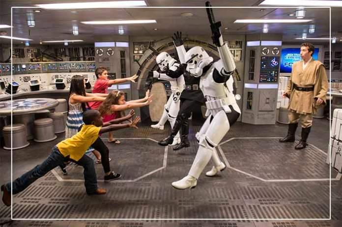 Disney Dream Star Wars Millennium-Falcon