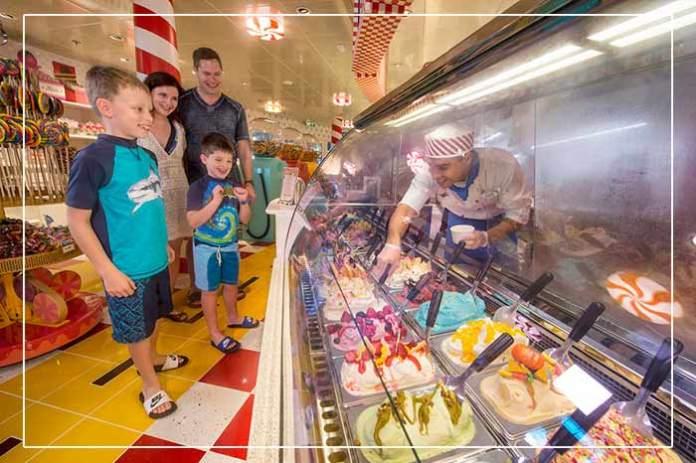 Vanellope's Sweets & Treats Aboard the Disney Dream