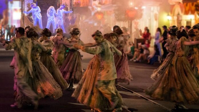 Frightfully Fun Parade Disneyland Halloween