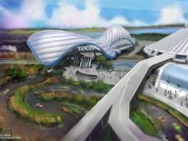 TRON coaster Disney World Magic Kingdom