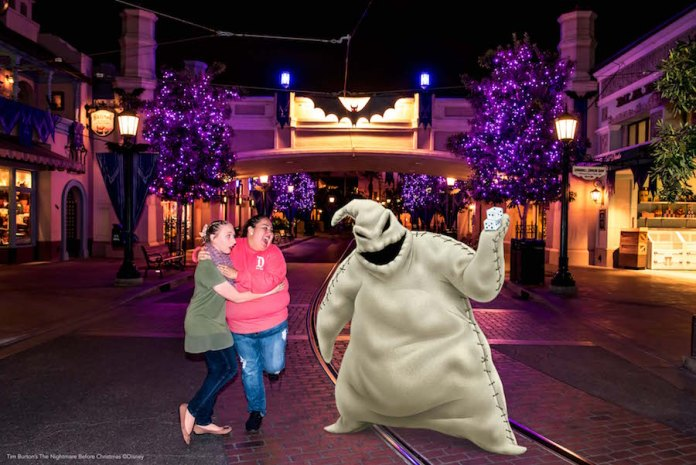 Oogie Boogie Magic Shot!