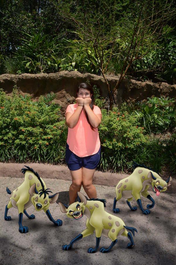 Lion King hyenas Photopass