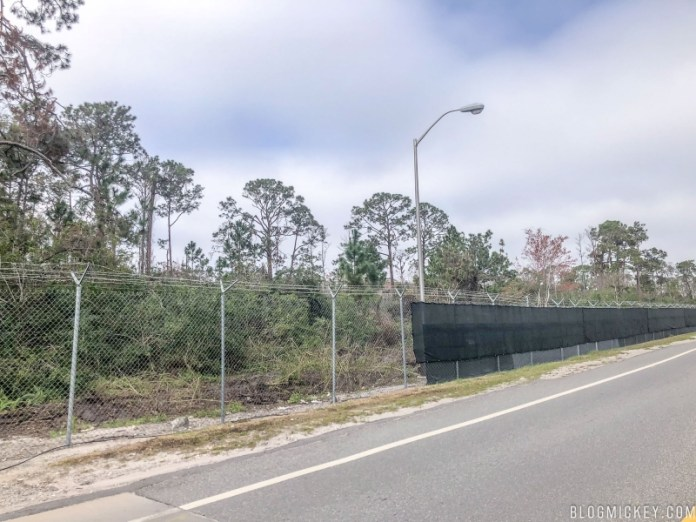TRON Coaster Site Clearing Started land