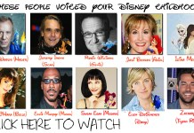 these people voiced your disney childhood