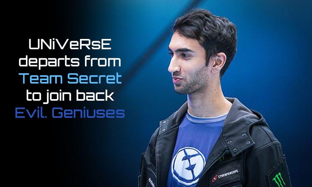 Universe Leaves Team Secret Bulba To Replace