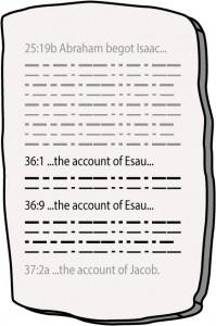 Esau's Embedded Accounts