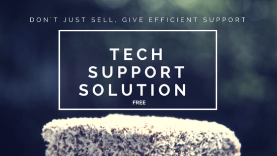 Free tech support solution