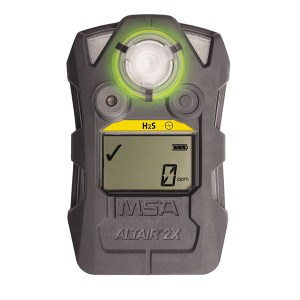 ALTAIR® 2X Gas Detector 2X H2S-Pulse [5,10,10,5], charcoal