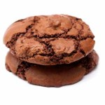 56775785 - chocolate cookies isolated