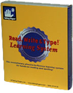 The Read, Write and Type! Learning System