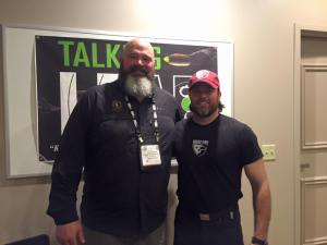 Todd Paradigm and Lefty 2016 shot show