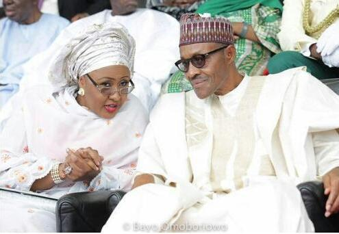 President Buhari and First Lady