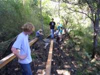 2005 Youth Conservation Crew at Carlito Springs, Tijeras, NM
