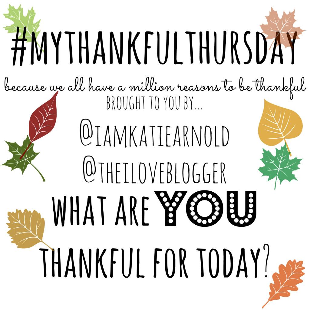 My Thankful Thursday