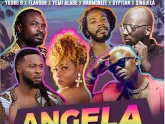 Young D Ft. Harmonize, Flavour, Yemi Alade, Gyptian & Singuila _ Angela