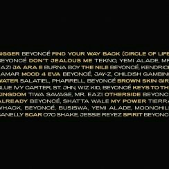 """Beyonce Releases The Tracklist For Her New Album """"The Lion King: The Gift"""""""