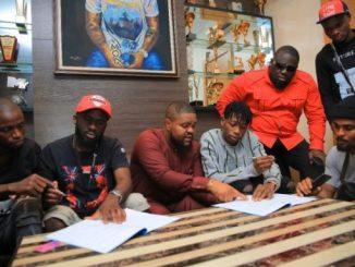 Davido signs Lil Frosh to DMW/AMW/30BG