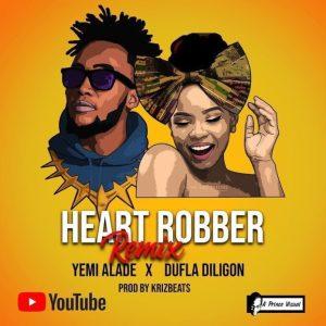 Yemi Alade Ft. Dufla Diligon - Heart Robber remix