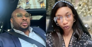 Tonto Dikeh's ex-husband, Churchill backfires her for calling him a '40 seconds man'