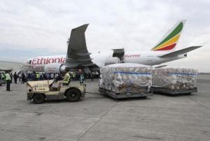Coronavirus: Chinese billionaire, Jack Ma's medical supplies arrives Nigeria (photos)
