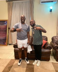 Davido meats the Governor of Oyo State, Seyi Makinde (Photos)