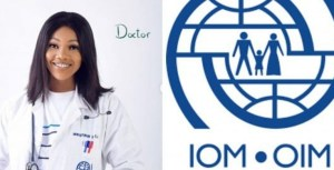 IOM reveals they are not associated with Tacha after she used their lab coat