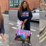 'Am not coming back to Nigeria oh, Lockdown in U.K is better' - Tacha (video)