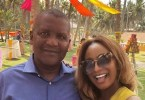 DJ Cuppy celebrates Dangote on his birthday (photo)
