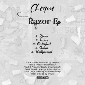 EP: Cheque - Razor