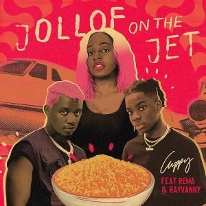 DJ Cuppy ft Rema, Rayvanny Jollof On A Jet Mp3
