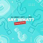 DJ Jimmy Jatt ft CDQ - Say What? mp3