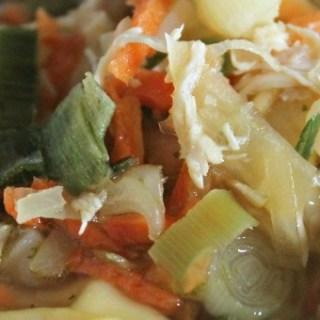 Tortellini kippensoep – Eén kip, vijf maaltijden