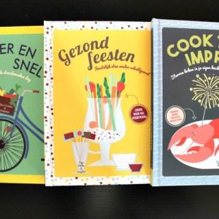 Onze recepten in kookboeken voor de Xenos!