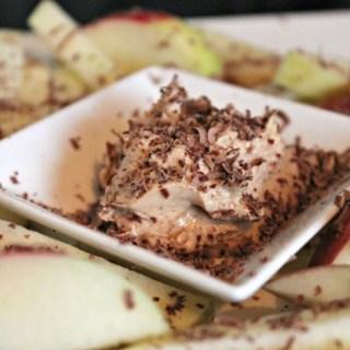 Appelfriet met pindakaas-yoghurt dip – Kiddiesnack #3