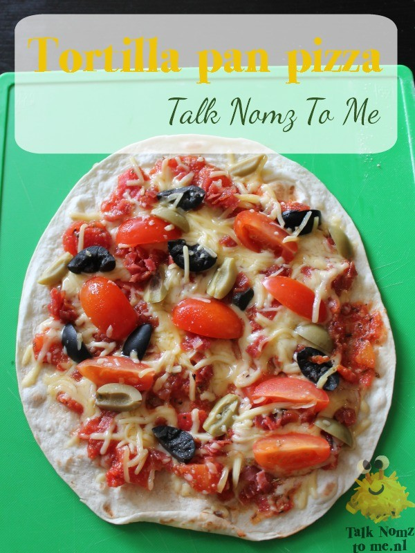 Tortilla Pan Pizza | TalkNomzToMe.nl