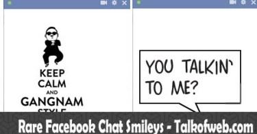 Facebook Rare Smileys